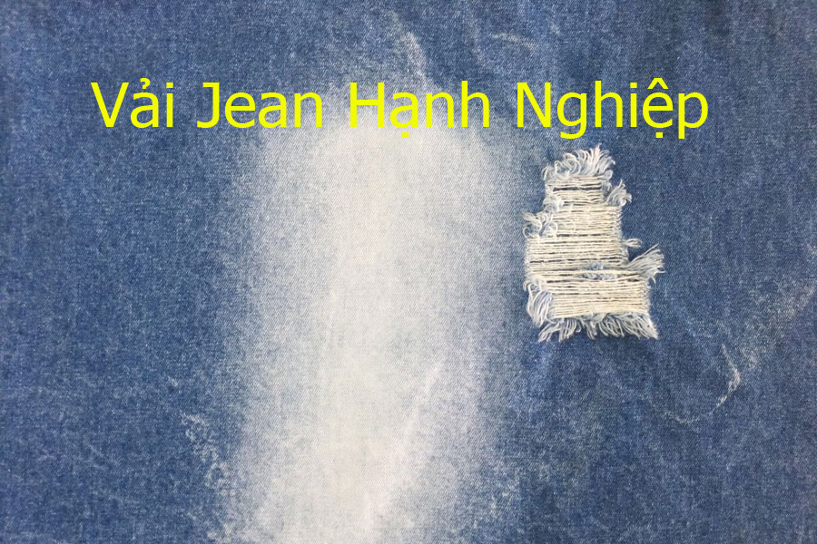 Vải jean cotton TL131